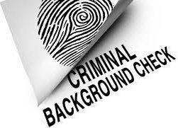 criminal background