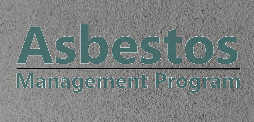 the asbestos management plan